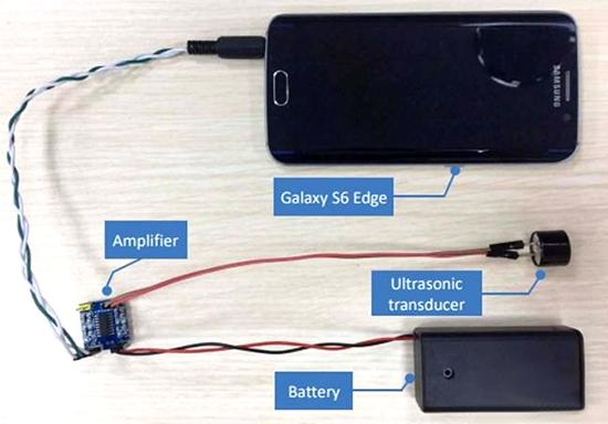 利用麦克风电路的非线性特征,该调制低频语音指令可被成功解调,恢复